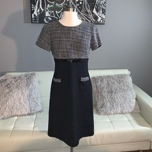 Classic Tahari Tweed Dress!